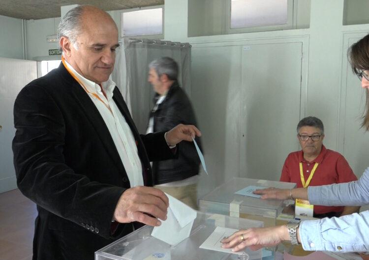 """Ramon Vilaltella de Ciutadans: """"Esperem que sigui una jornada festiva i tranquil·la de votació"""""""