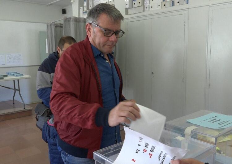 """Joan Simeón del PP: """"Estem convençuts que hem fet la campanya que tocava i esperem uns bons resultats"""""""