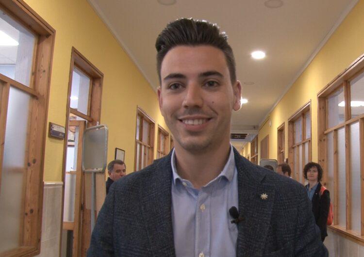 Joel Bastons, del PSC, serà el regidor més jove a l'Ajuntament de Mollerussa