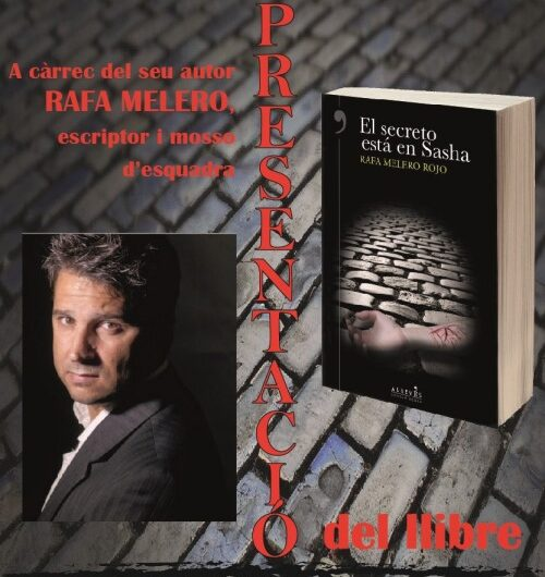 L'Ateneu golmesenc organitza la presentació del llibre 'El secreto está en Sasha'