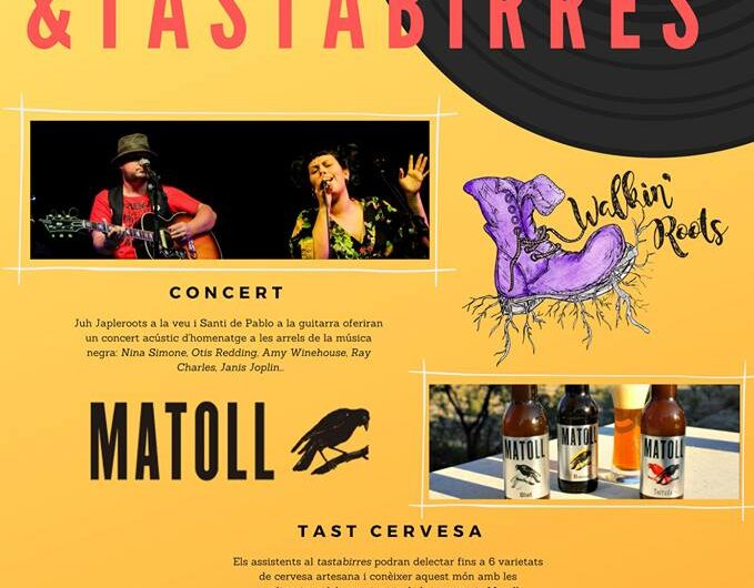 Primer 'Concert & Tastabirres' a Bellvís el 4 d'abril