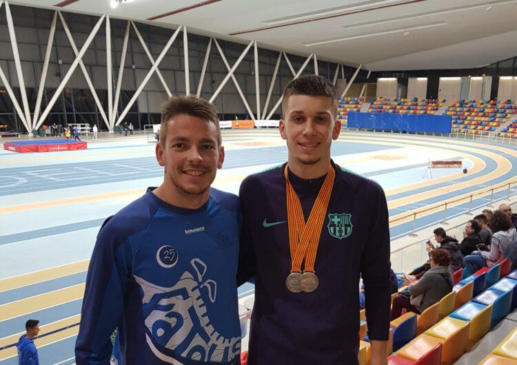 Arnau Monné s'adjudica dues medalles d'argent al Campionat de Catalunya Sub-20