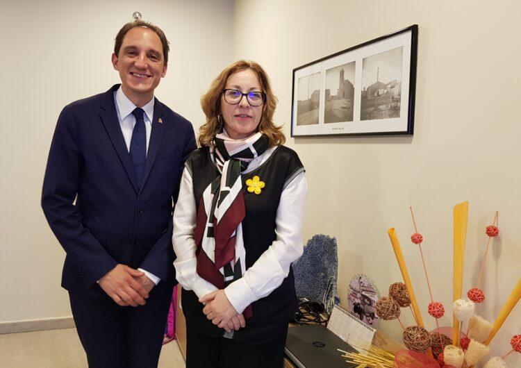 Sidamon reclama al subdelegat del Govern a Lleida la millora del vial de sortida de l'A-2