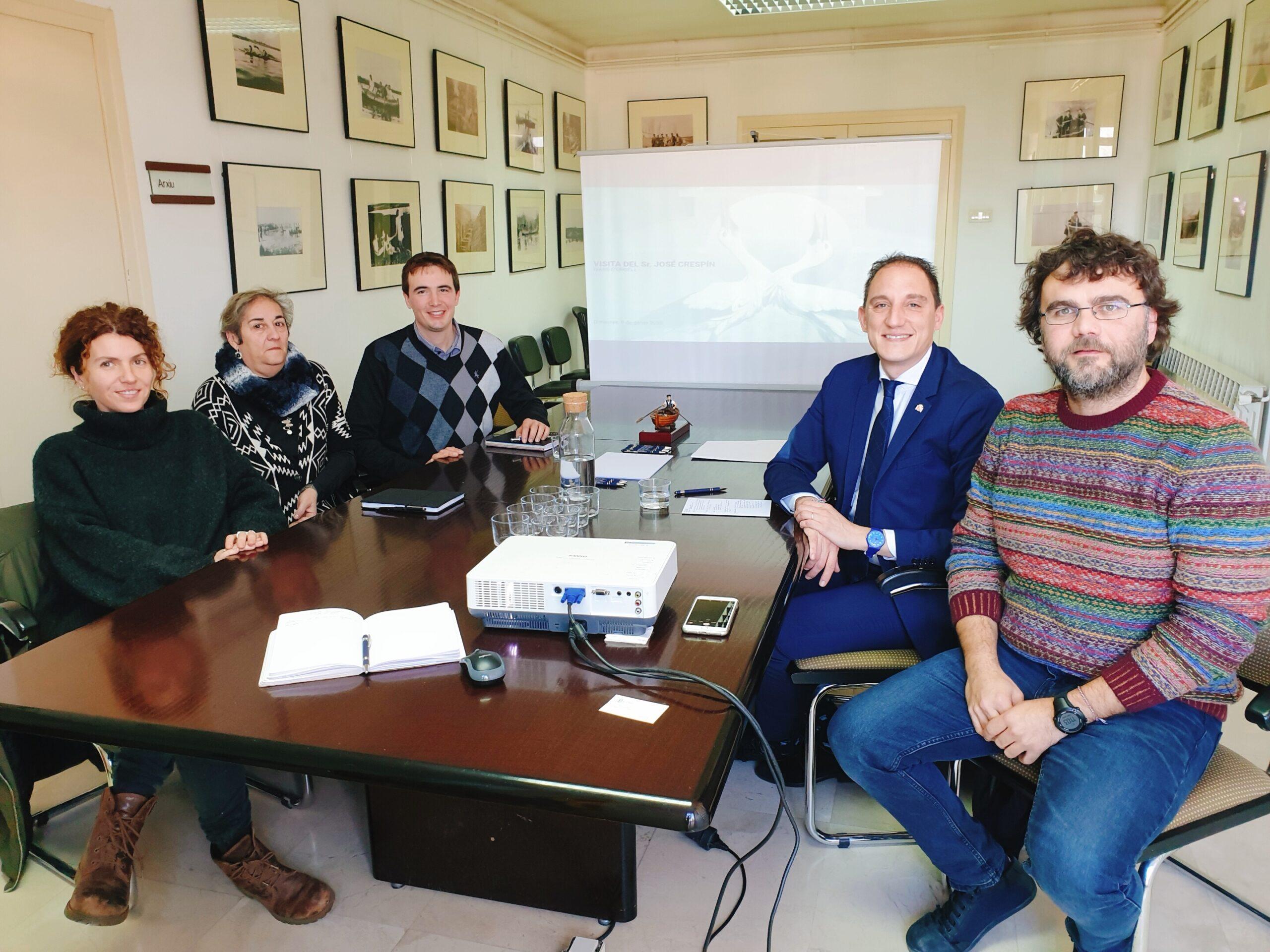 20200108 Subdelegat. Reunió amb Mancomunitat Intermunicipal per a la potabilització de les aigües de Barbens, Ivars d'urgell i Vila-sana