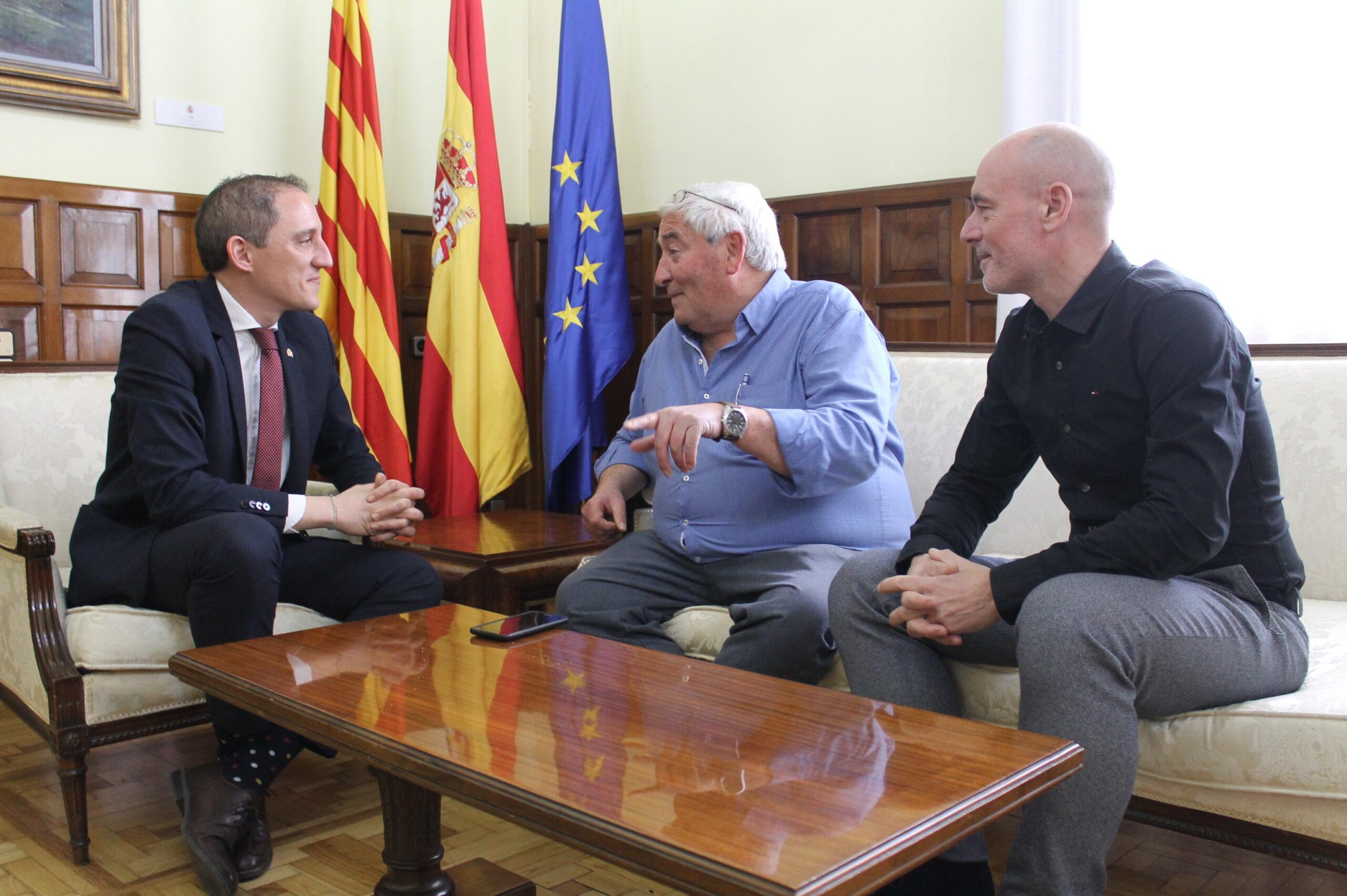 20200213 Subdelegat. Canal d'Urgell. Amadeu Ros i Xavier Díaz
