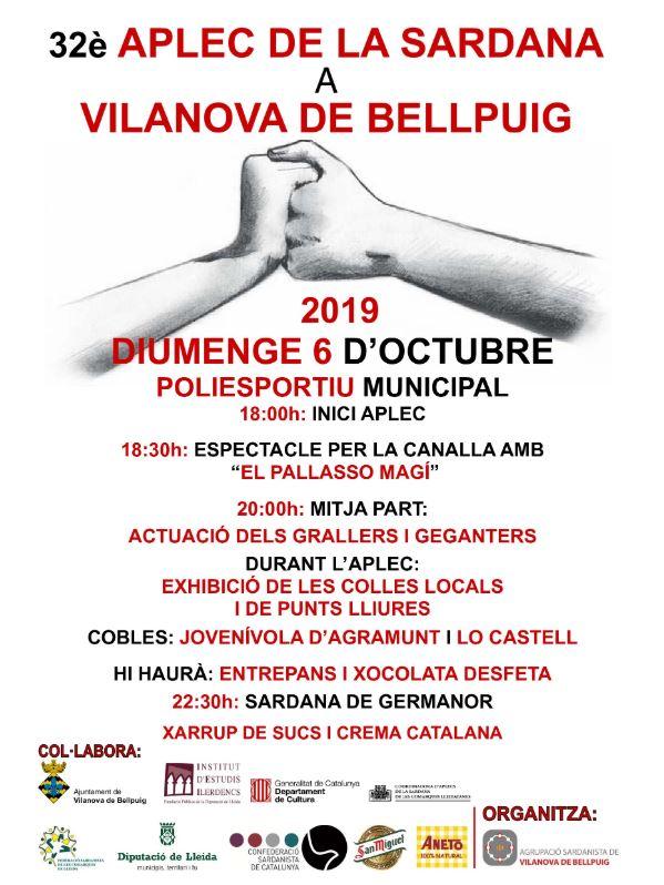 32è aplec sardanista Vilanova de Bellpuig