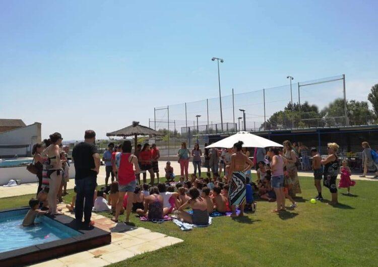Els cursets de natació de Vilanova de Bellpuig finalitzen amb una vuitantena de participants