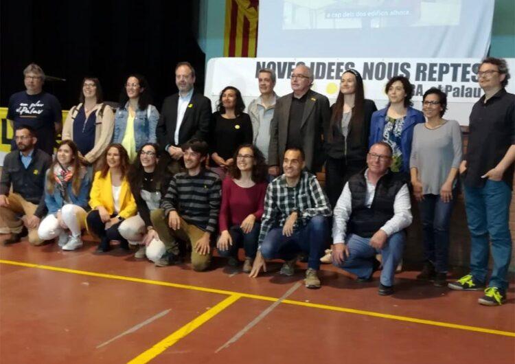 El conseller d'Educació, Josep Bargalló, presideix l'acte de presentació de la candidatura Ara, el Palau