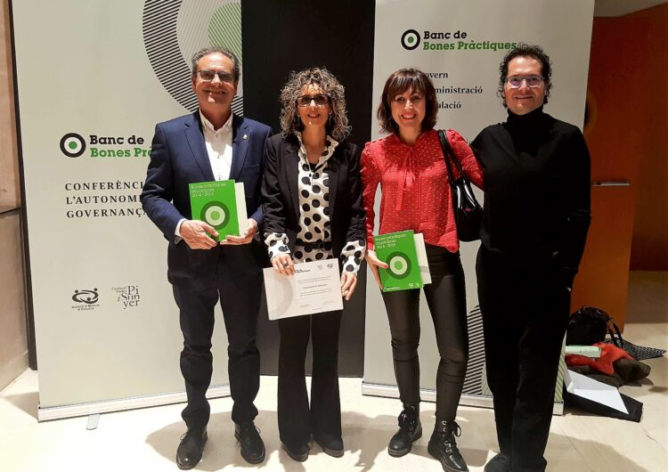 Mollerussa recull un reconeixement per Bones Pràctiques en 2 projectes de l'àrea de Benestar Social