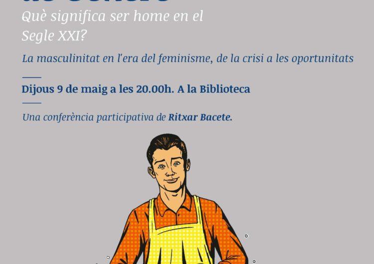 Torna el Cicle de Gènere a la biblioteca de Mollerussa amb l'escriptor Ritxar Bacete