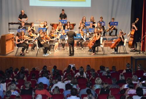 El concert de final de curs de l'Escola de Música. FOTO: Ajuntament de Mollerussa.