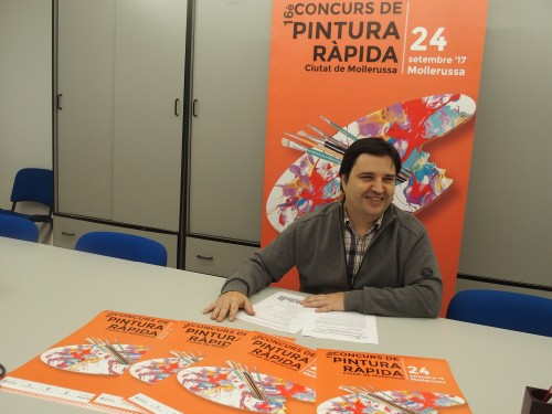 Poldo Segarra, presentant el certamen. FOTO: Fira de Mollerussa.