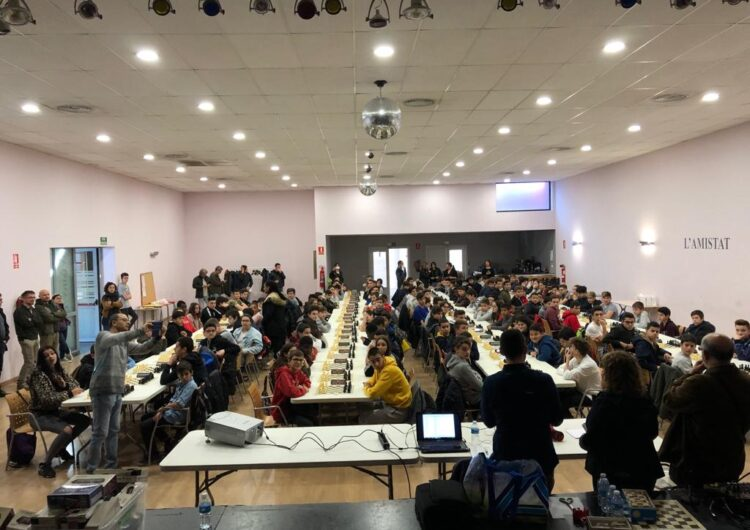 Mollerussa acull el II Torneig d'Escacs d'Instituts de la província de Lleida amb la participació de 160 alumnes