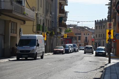 El carrer Domènec Cardenal. FOTO: Ajuntament de Mollerussa.