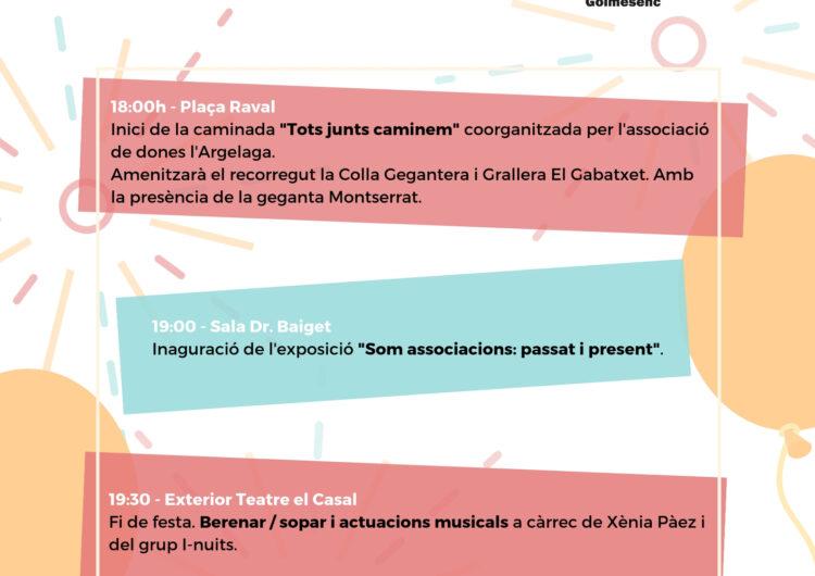 L'Ateneu Golmesenc celebra dissabte el Dia de l'Associacionisme amb una caminada, exposició i música