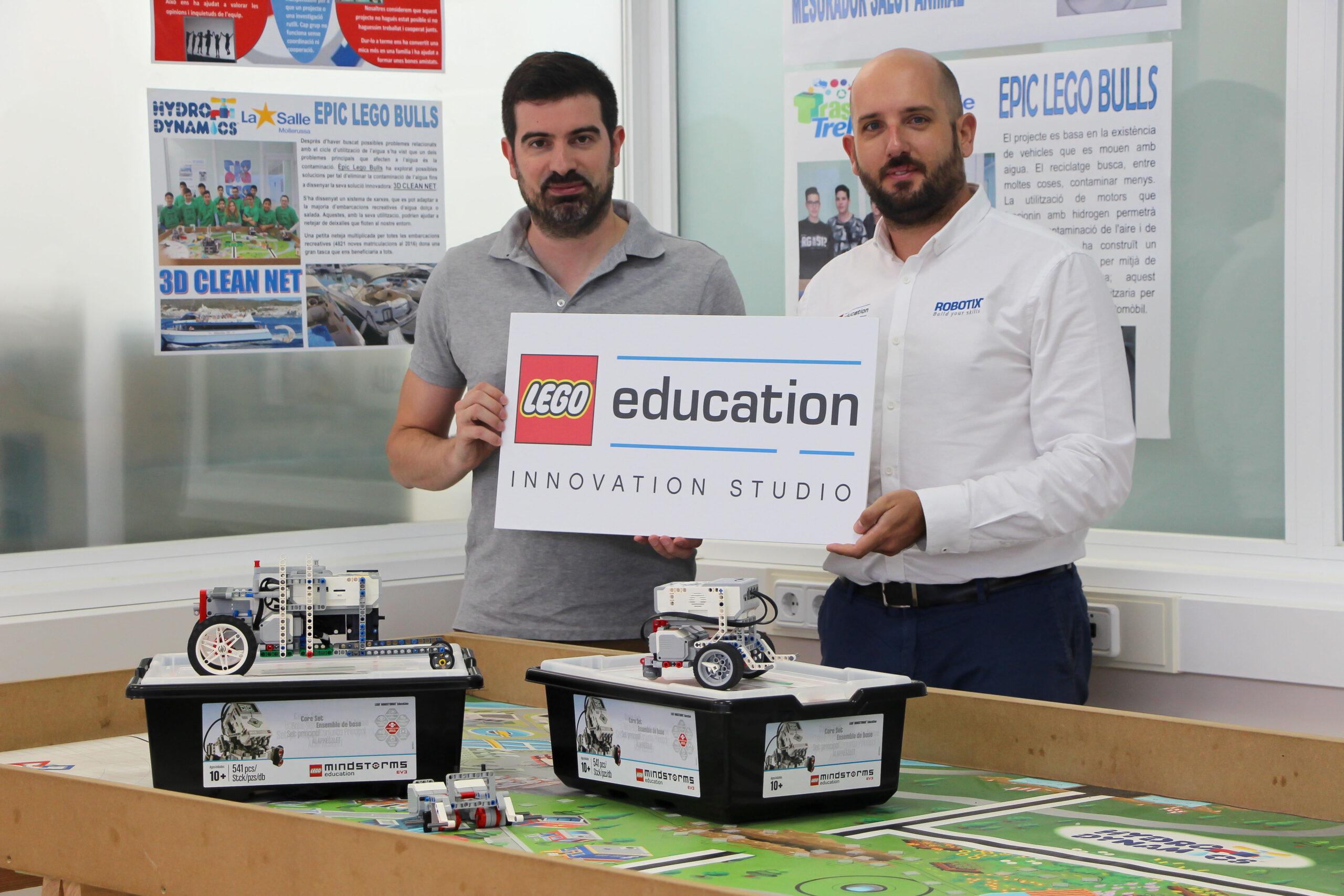 FOTO LEGO EDUCATION LA SALLE MOLLERUSSA