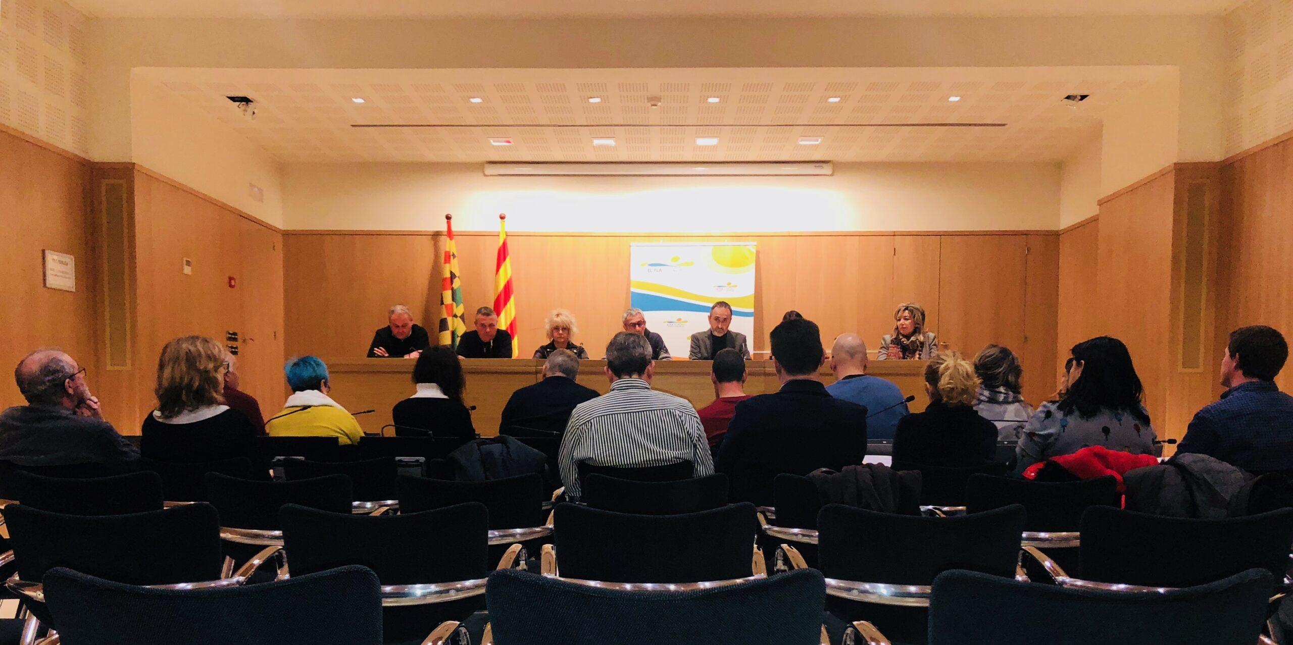 Foto Ple Consell Comarcal de febrer