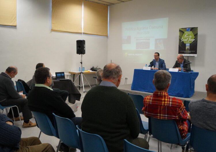 El possible retard en l'entrada en vigor de la PAC, a les jornades tècniques de la Fira de Sant Josep