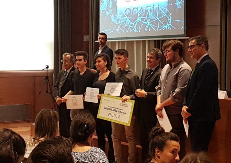 La Salle Mollerussa, II Premi a la millor idea a la final d'Emprenedoria de la FP Catalana