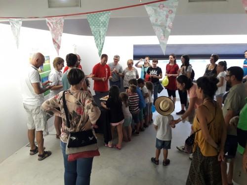 La celebració, a l'interior de Cal Sinén. FOTO: Boira Experience.