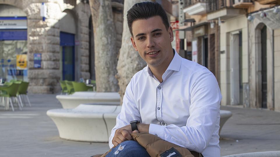 Joel Bastons candidat del PSC a l'Ajuntament de Mollerussa