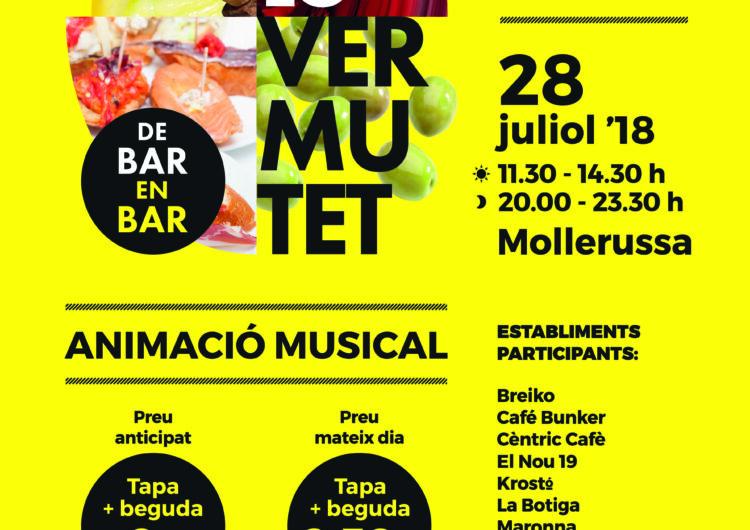 Els grup musicals Surprise, El Guiri, i el Mag Pere, entre altres, amenitzaran Lo Vermutet de Mollerussa d'aquest dissabte