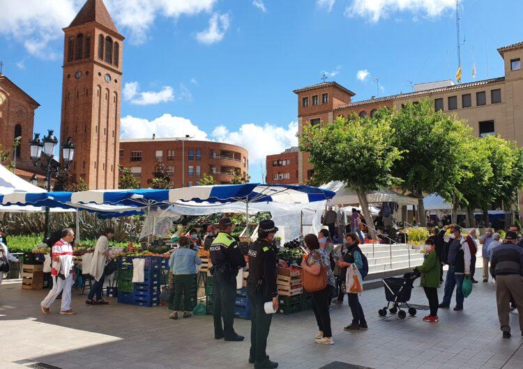 Mollerussa recupera a partir de demà totes les parades del mercat, que ocuparà també l'avinguda del Canal