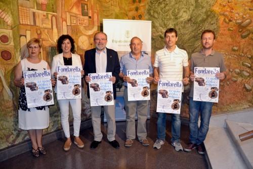 Presentació de la Mostra d'Arts i Oficis a Lleida. FOTO: Diputació de Lleida.