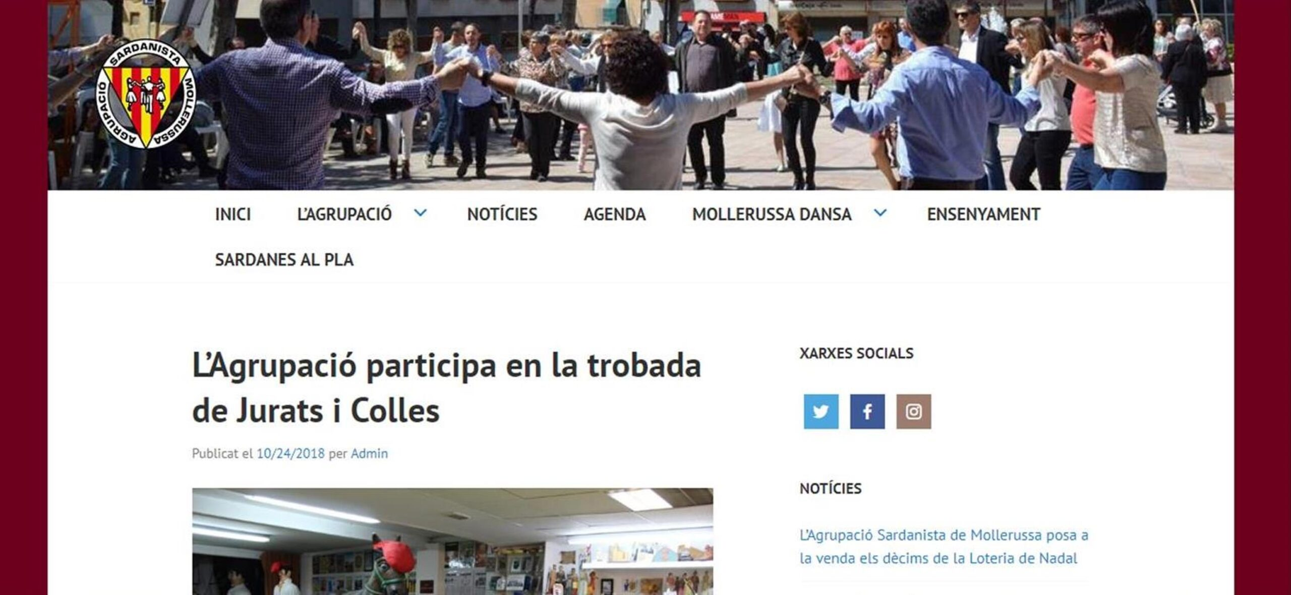 NOVA PÀGINA WEB PER NP ALTA