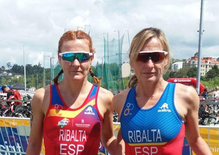Eva Ribalta, dels Xafatolls, campiona del món de Duatló