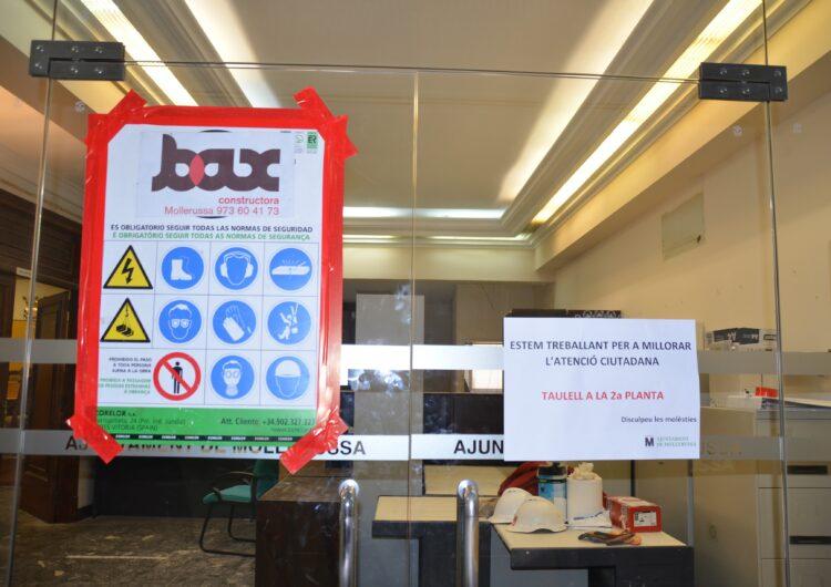 L'Ajuntament de Mollerussa trasllada l'atenció al ciutadà a la 2a planta mentre durin les obres de l'OAC