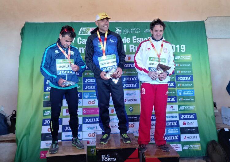 Oscar Balsells, dels Xafatolls, campió d'Espanya M55 de curses de muntanya-trail running