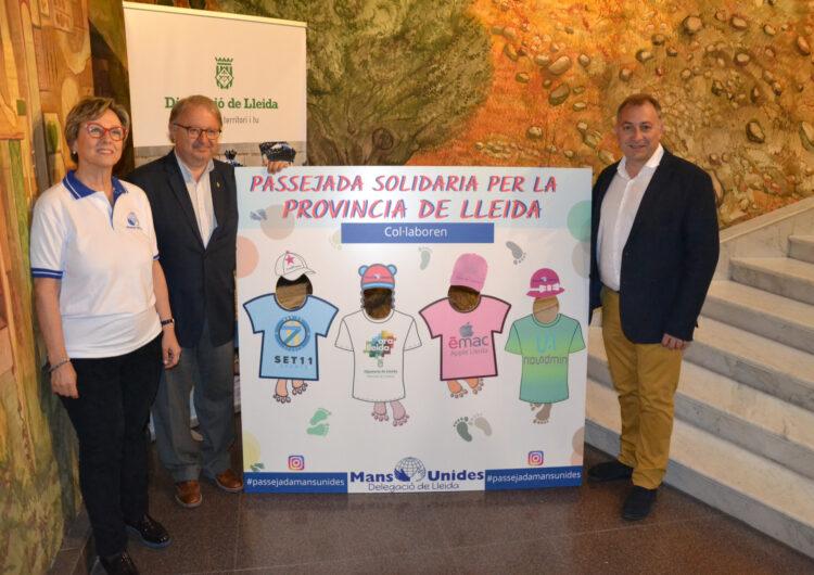Torregrossa participarà en la celebració del 60è aniversari de Mans Unides el pròxim 7 d'abril