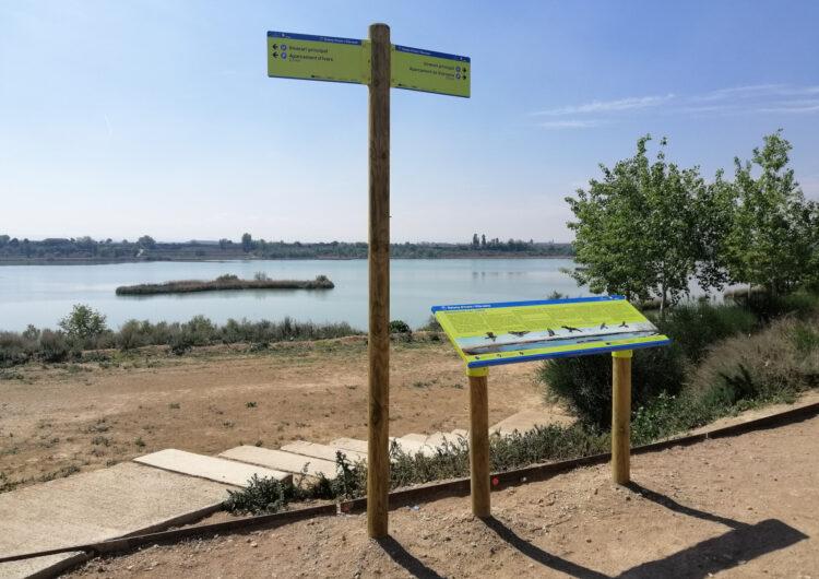 S'estrena la nova senyalització de l'Estany d'Ivars i Vila-sana
