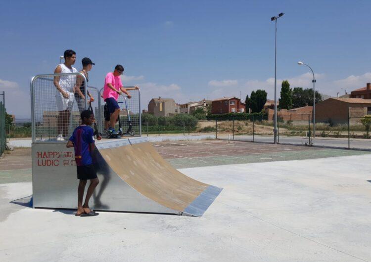 Linyola estrena Skate Park