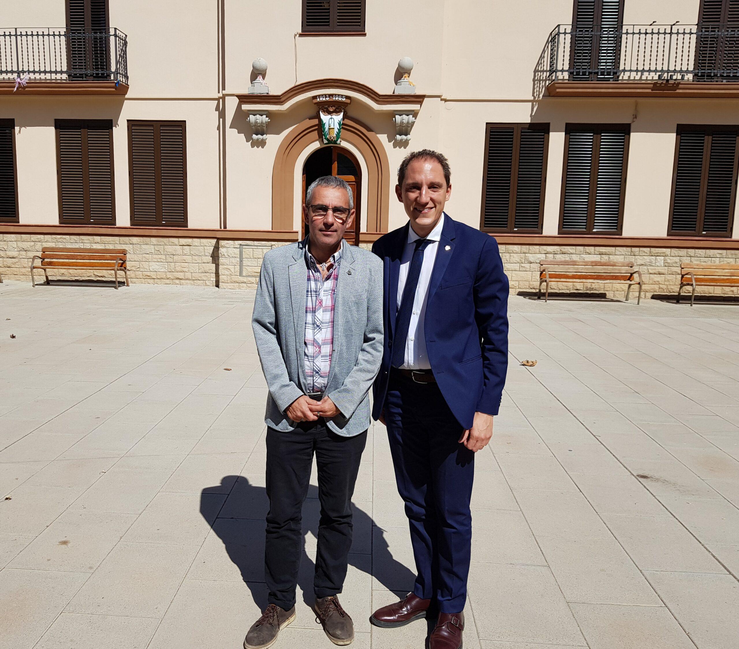 Subdelegat amb alcalde del Poal
