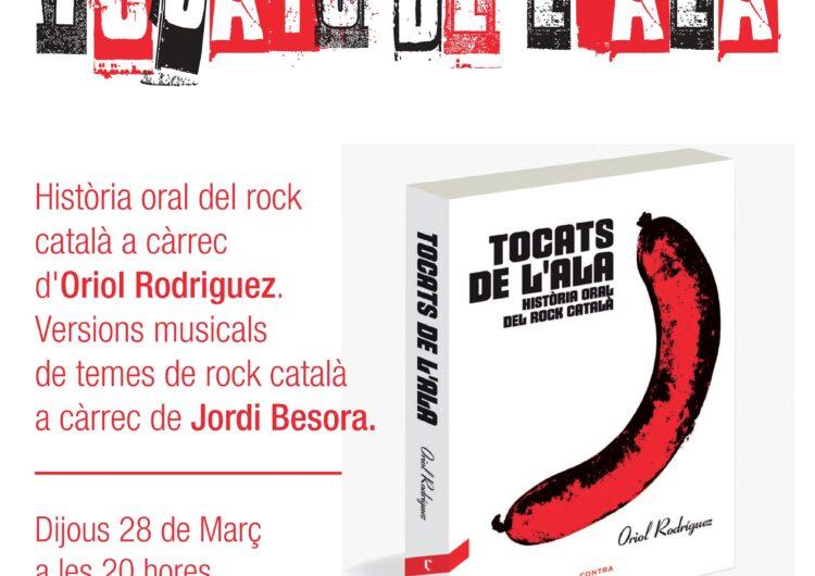 La biblioteca de Mollerussa analitza el fenomen del rock català amb la presentació del llibre 'Tocats de l'Ala' d'Oriol Rodríguez