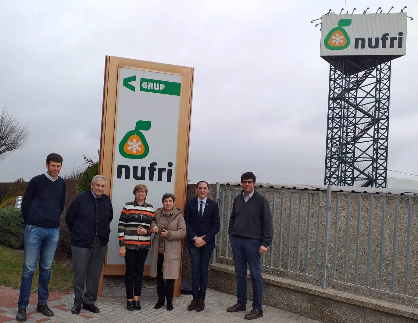 Visita a Nufri