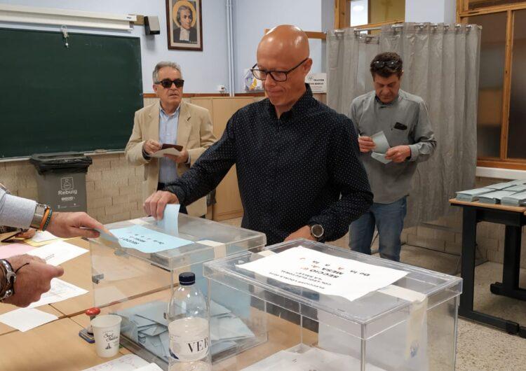 """Josep Antoni Hereu d'En Comú Podem: """"És crucial que la població decideixi avui quin rumb emprendrà la ciutat"""""""