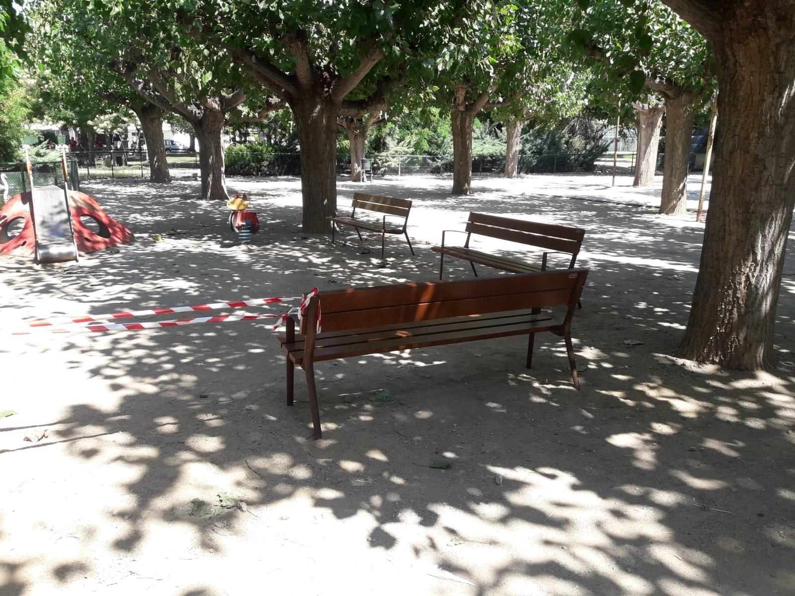 bancs parc