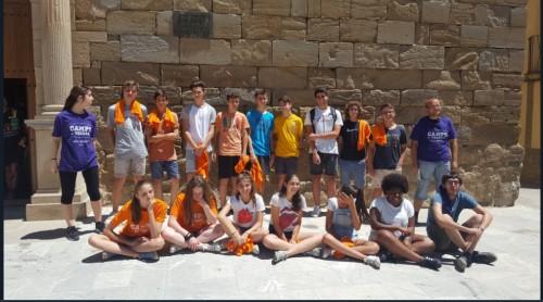 Els participants del Camp de Treball de Linyola de l'any 2016. FOTO: Ajuntament de Linyola.