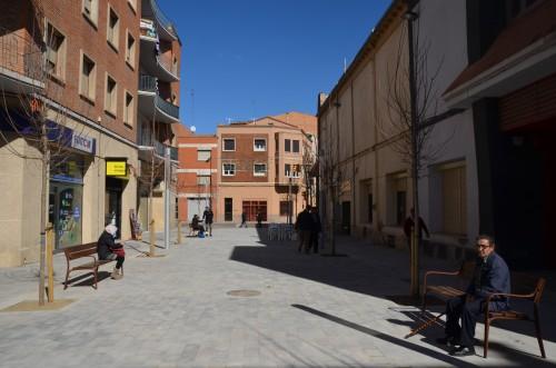 carrer ciutat de Lleida