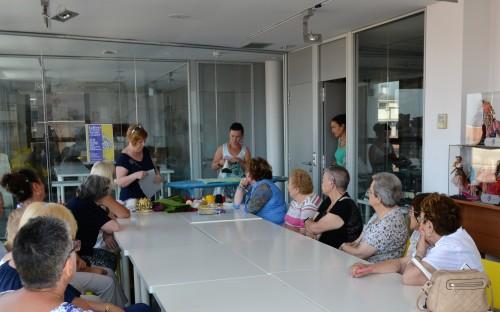 Una de les sessions del curs. FOTO: Ajuntament de Mollerussa.