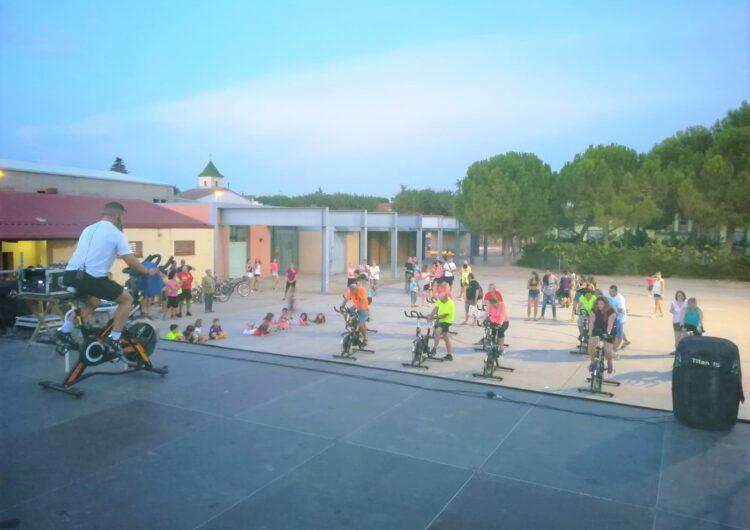 Ple absolut a les classes d'Spinning organitzades al Palau d'Anglesola