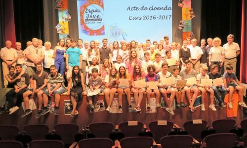 Fotografia dels participants del curs de l'EJI. FOTO: Ajuntament de Mollerussa.