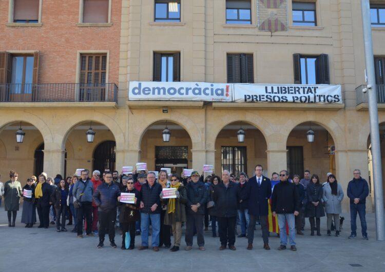 Mollerussa exigeix garanties en el judici als presos independentistes que s'ha iniciat avui a Madrid