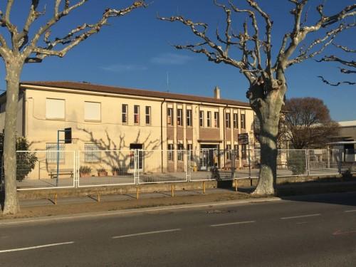 La façana d'un dels edificis de les escoles del Palau d'Anglesola. FOTO: Ajuntament del Palau d'Anglesola.