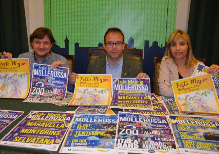 Itaca Band i Zoo, caps de cartell de la Festa Major de Mollerussa dels concerts de nit  juntament amb Marc Marzenit i Allioli