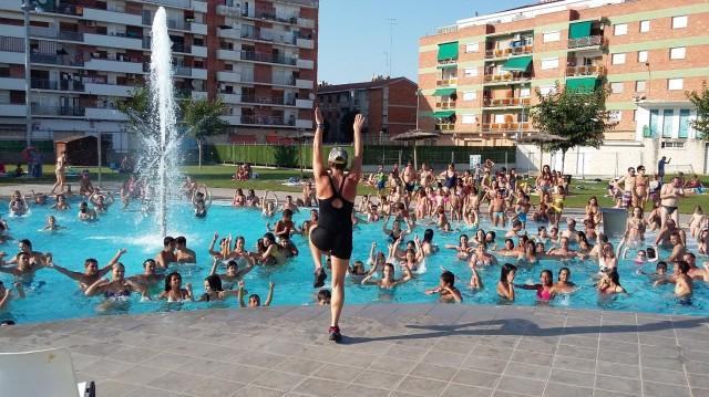 Activitat a la piscina (Autor: Aj. Mollerussa)