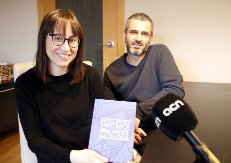 Dos autors de Torregrossa retraten per primer cop en còmic els darrers anys de vida d'Antonio Machado